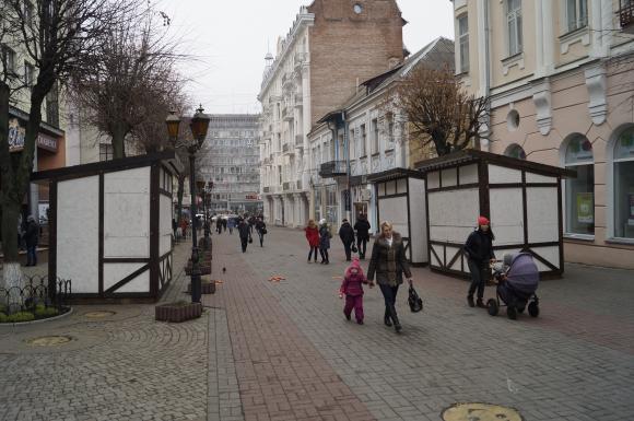 Новогодняя ярмарка в Виннице