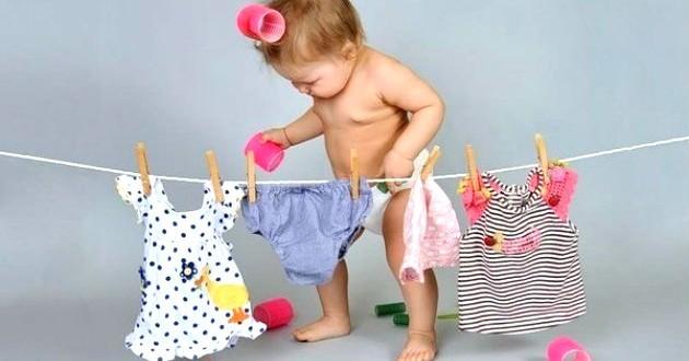Як прати дитячі речі?